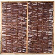 Weiden-Zaun/Sichtschutz Weide im Maß 180 x 180 cm