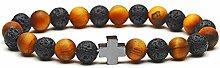 Weiduoli Natürliche Stein Armband, Intarsien