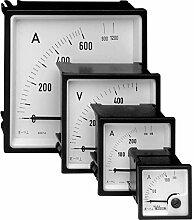 Weigel EQ72K 0–500V Einbau-Instrument