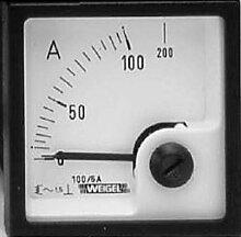 Weigel EQ72K 250/5A Instrument Unterputz für