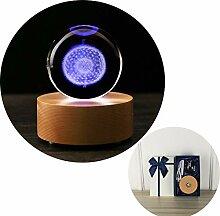 WEIGZ Massivholz-LED-Lampenhalter drahtlose