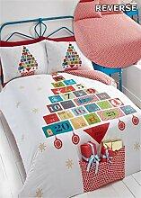 Weihnachten Advent Kalender, Bettbezug &