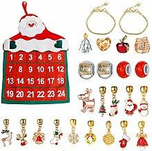 Weihnachten Adventskalender, Weihnachtsan hänger,
