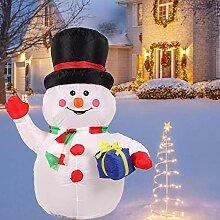 Weihnachten Aufblasbarer Schneemann, Riesiger