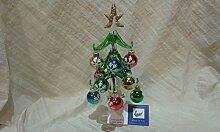 Weihnachten Baum aus Glas Murano-Schnee Dekorationen Dekoration Geschenkidee Weihnachten