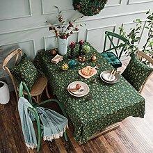 Weihnachten Bronzing Tischdecke gedruckt Baumwolle