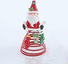 Weihnachten Decorationsby FONK Weihnachten Ritual Ältere Schneemann Keramik Frühling Dekoration Kinder Weihnachtsgeschenke Kleine Geschenke Dekorative Puppen,A-14cm*7cm*7cm