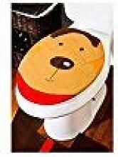 Weihnachten Deko, 3 PCS Cute Cartoon Vlies