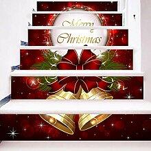 Weihnachten Deko, 6 teile/satz Wasserdichte PVC