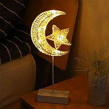 Weihnachten Deko, LED Exquisite Rattan Lampe