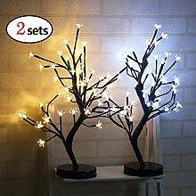 Weihnachten Deko, Nachtlicht 48 LED Eingetopftes