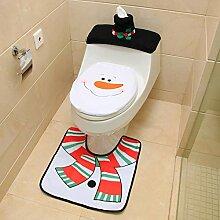 Weihnachten Deko, Neue Schneemann Santa WC