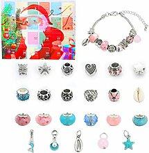 Weihnachten DIY Charm Bracelet Making Kit,