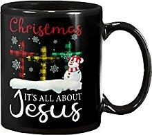 Weihnachten dreht sich alles um Jesus-Becher,