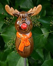 Weihnachten Elch aus Keramik Elch