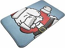 Weihnachten Frohe Hund Santa Tupfen