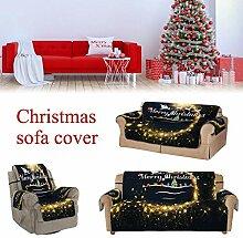Weihnachten Garnituren Sofabezug Schutzhülle Sofa
