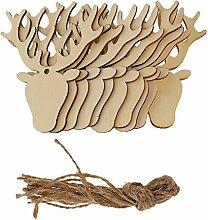 Weihnachten Geschenkanhänger, Holz, mit