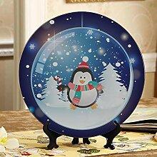 Weihnachten Glaskugel Kinder Keramikplatten