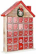 Weihnachten Hölzerne Adventskalender Chic-Haus