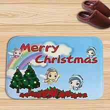 Weihnachten Home Decoration Türmatte Cartoon