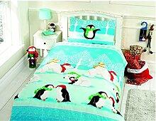 Weihnachten Kids Xmas Tree Pinguine Eisbären