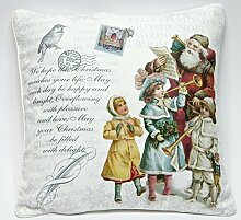 Weihnachten, Kissenhülle ca. 40x40 cm, Material: