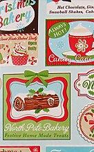 Weihnachten Konfekt Bakery behandelt Patchwork