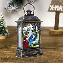Weihnachten LED Dekoration Lampe PortableLanterns