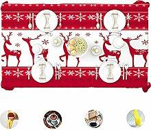 Weihnachten Polyester Tischdecke Mit Sikawild