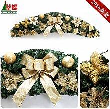 Weihnachten Rattanmöbel Girlanden Weihnachten Dekoration Girlanden Hörner Wandbehänge