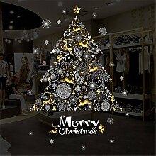 Weihnachten shop shop Fenster Glas dekorative