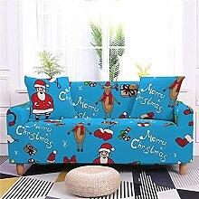 Weihnachten Stretch Sofa überzug Sofabezüge für