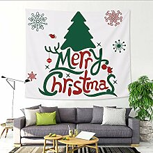 Weihnachten Tapisserie festliche Dekoration Bar