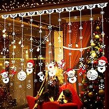 Weihnachten Wandaufkleber, Calmare 180pcs