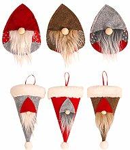 Weihnachtliche Besteckhalter – Weihnachtsparty