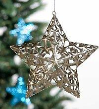 Weihnachtliche Dekoration großer Stern