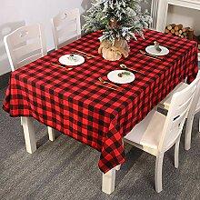 Weihnachtliche Tischdekoration Fliesen rechteckige
