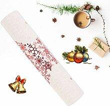 Weihnachtliche Tischsets, Exquisite Druckmuster