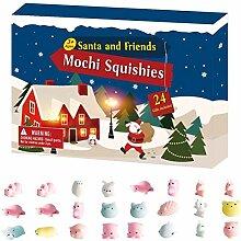 Weihnachts-Adventskalender, 24PCS verschiedene