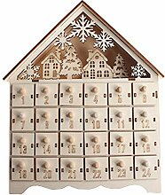 Weihnachts-Countdown-Adventskalender, Ornament,