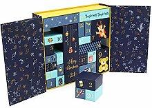 Weihnachts-Countdown-Box,