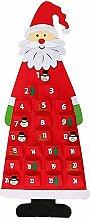 Weihnachts-Countdown-Kalender, DIY Santa