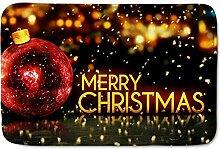 Weihnachts-Fußmatten, Weihnachtskugeln 40 cm * 60