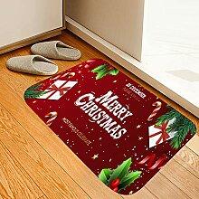 Weihnachts-Geschenkbox, roter Druck, Schaumstoff,
