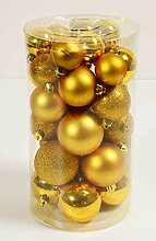 Weihnachts-Kugel-Mix, Christbaum-Schmuck,