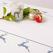 Weihnachts-tischdecke - Vintage Roter Hirsch