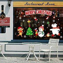 Weihnachts Wandaufkleber, 10er Weihnachten