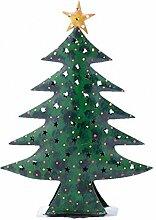 Weihnachtsbaum Baum Metall grün mit Stern