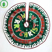 Weihnachtsbaum Dekoration 90 cm Teppich nette